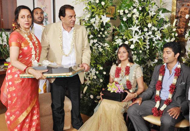 Ahana Deol's engagement pics