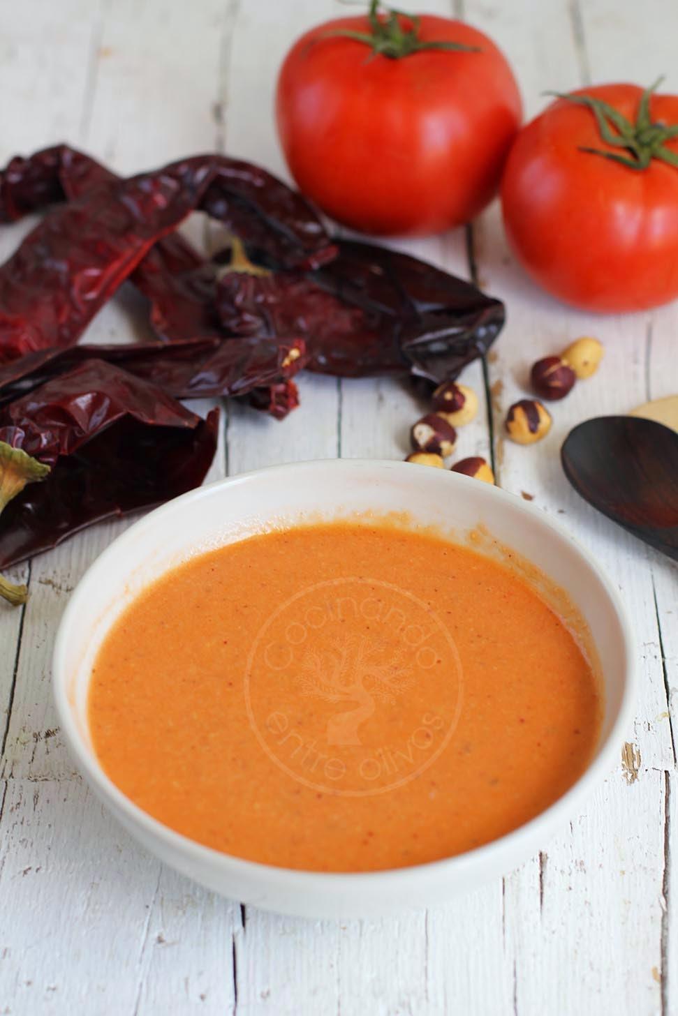 Cocinando entre olivos salsa romesco receta paso a paso for Cocinando entre olivos