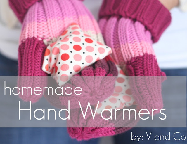 V and Co: how to: homemade hand warmers