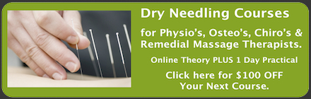 Dry Needling Courses in Melbourne, Sydney, Brisbane, Gold Coast, Adelaide & Perth.