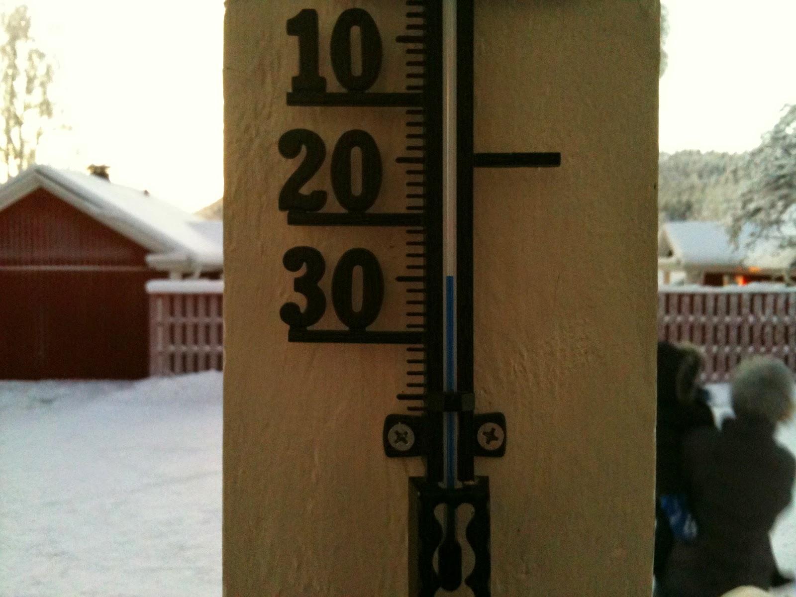 Température Laponie