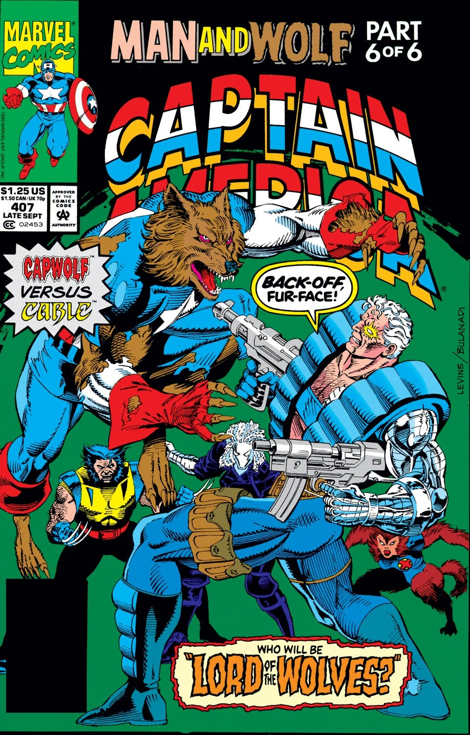 Captain America (1968) Issue #407 #356 - English 1