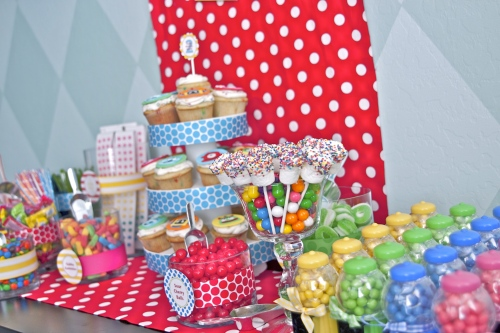 Party Hat: Candy Buffet for Kids Birthday Parties