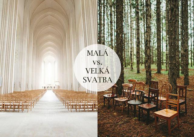 svatba v kostele nebo v lese