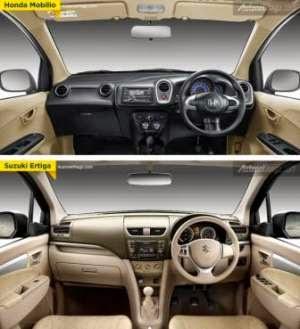 Interior Honda Mobilio dan Suzuki Ertiga