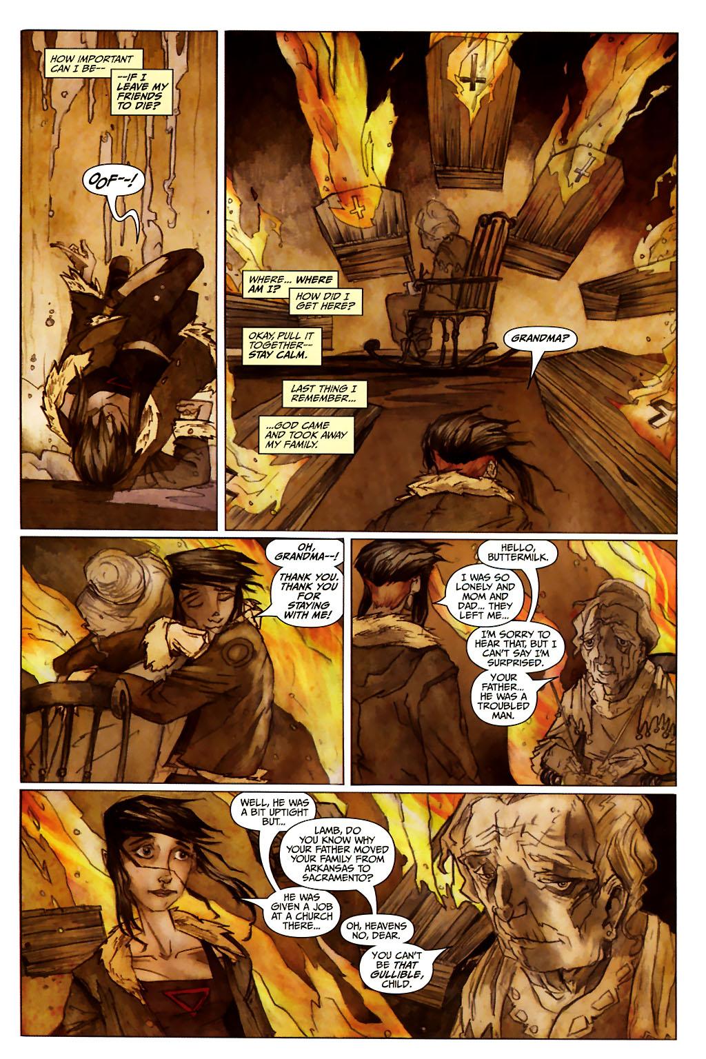Girl 13 Page 6 #6 - English 9