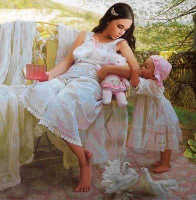 pinturas-madres-con-hijos