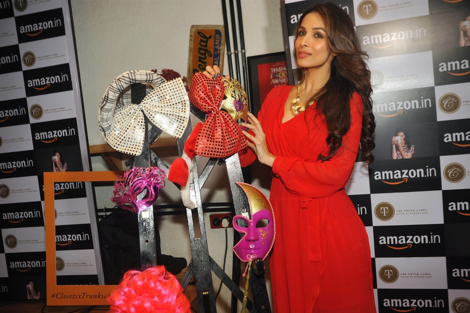 Bipasha Basu & Malaika Arora Khan at Amazon.in and The Label Corp exclusive partnership event