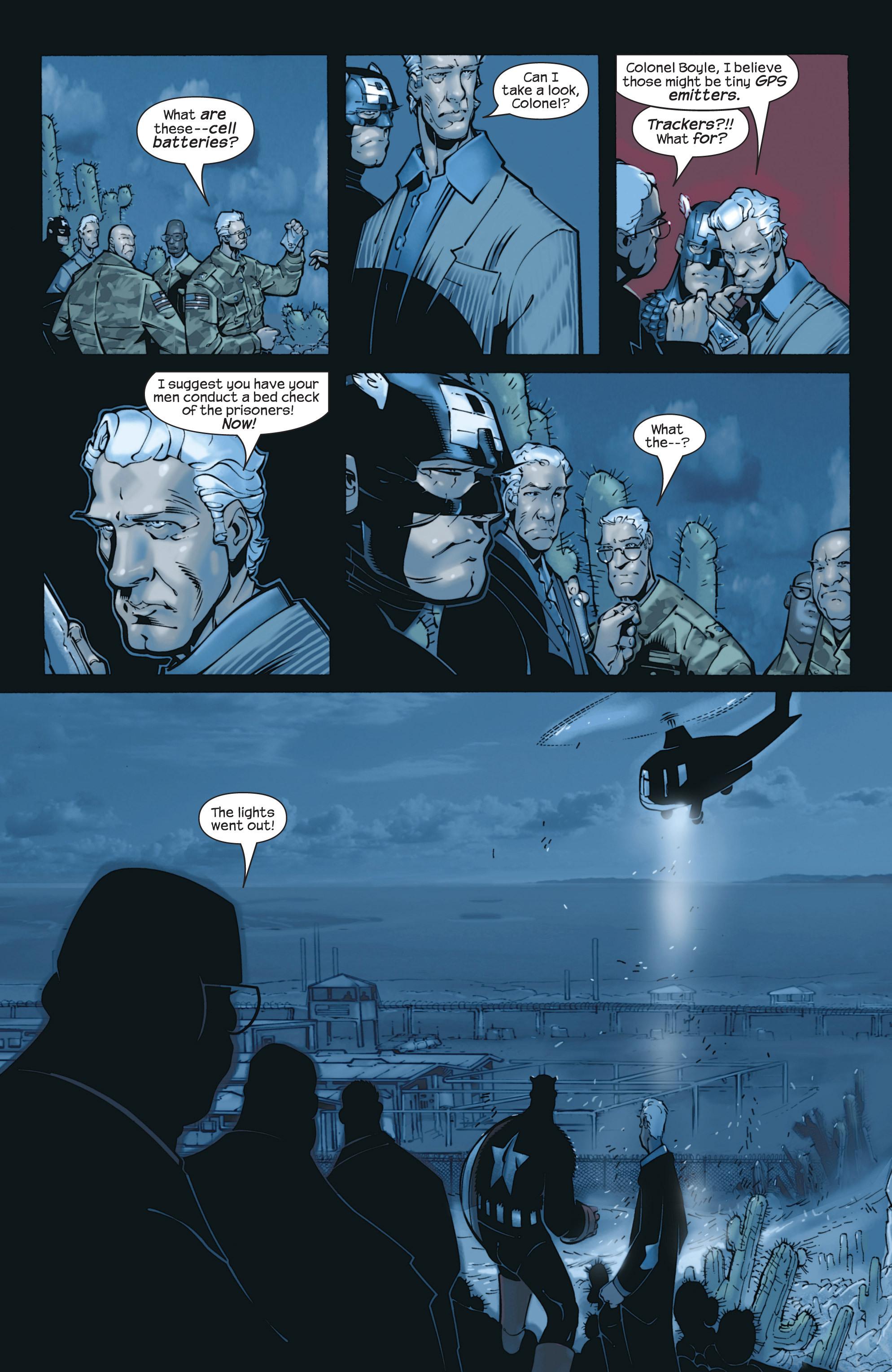 Captain America (2002) Issue #23 #24 - English 6