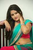 Anusha half saree photos gallery-thumbnail-3