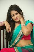 Anusha half saree photos gallery-thumbnail-3