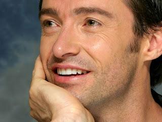 Hugh Jackman close up smile super images