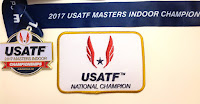 2017 National Champion USATF M55 indoor 400m