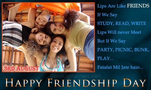 happy friendship day 2014 greeting cards