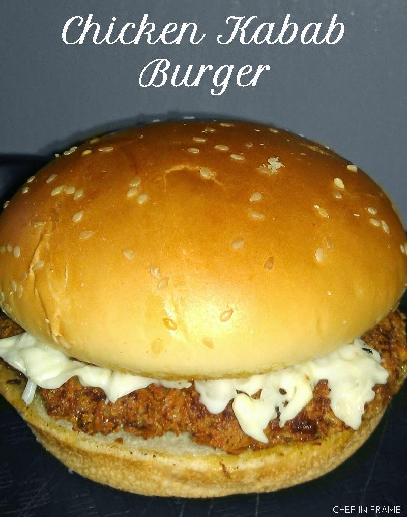 Chicken Kabab Burgers