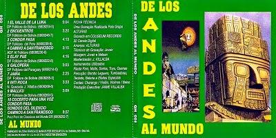 Grupo Alturas Del Los Andes Al Mundo CD 2014