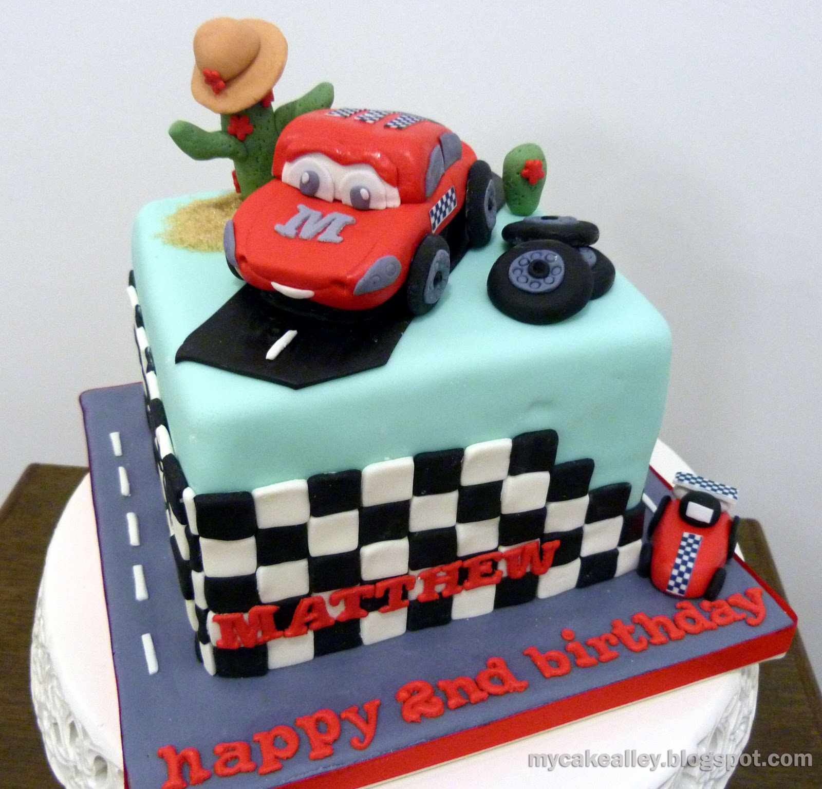 Disney Cars Cake Images : My Cake Alley: Disney  Cars  cake