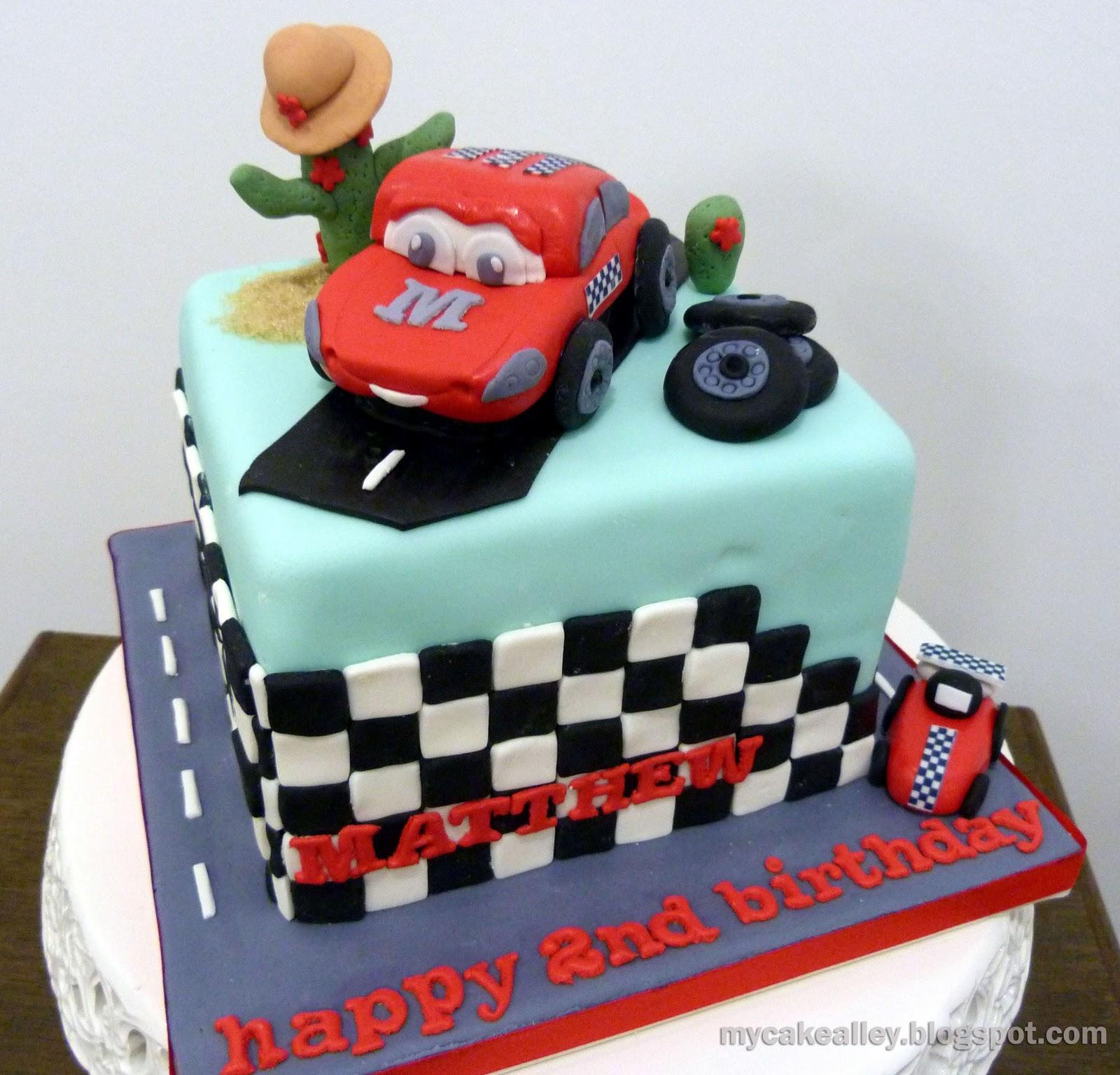My Cake Alley: Disney  Cars  cake