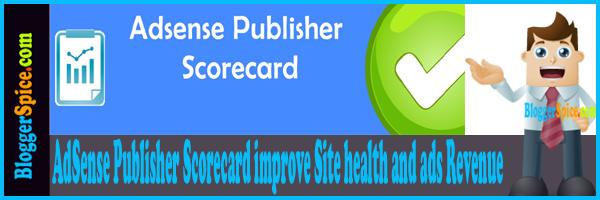 AdSense scorecard