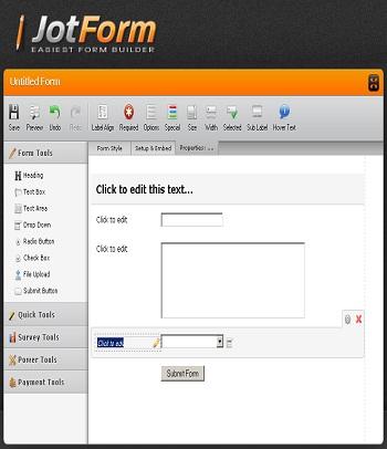 JotForm.com: Create Form Online