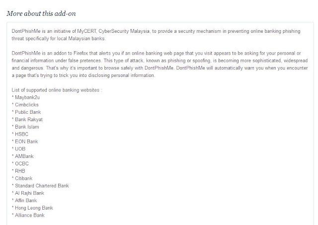 Cara Mengesan Laman Phishing/Laman Palsu Perbankan