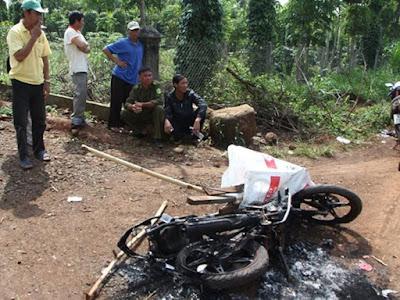 Đối tượng trộm chó ở Quảng Ngãi bị ngã xe tử vong