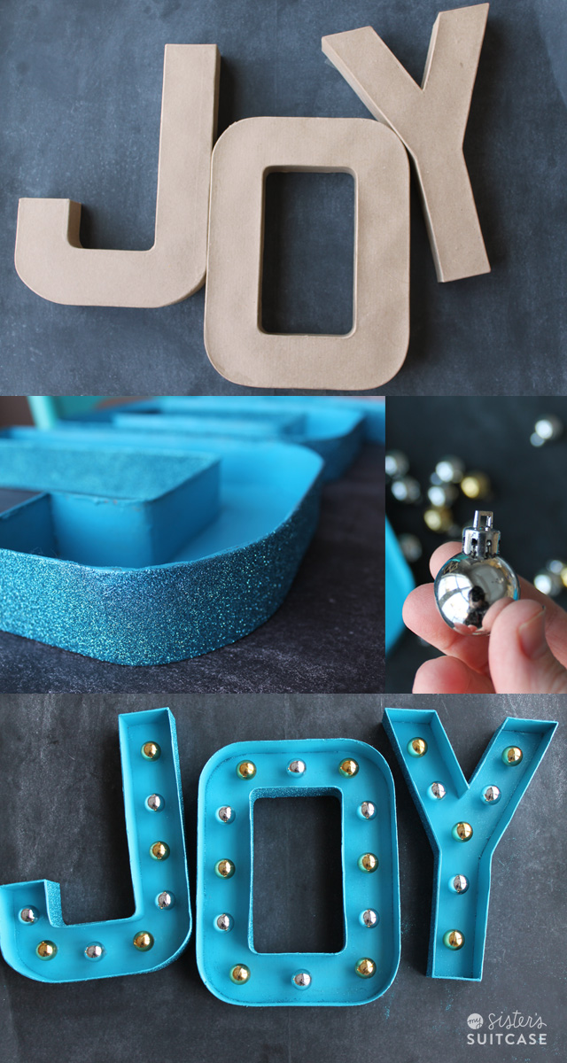 Glitter Marquee Letters The EASY Way My Sister 39 S Suitcase Packed W