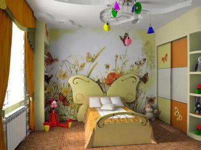 mural dormitorio niña