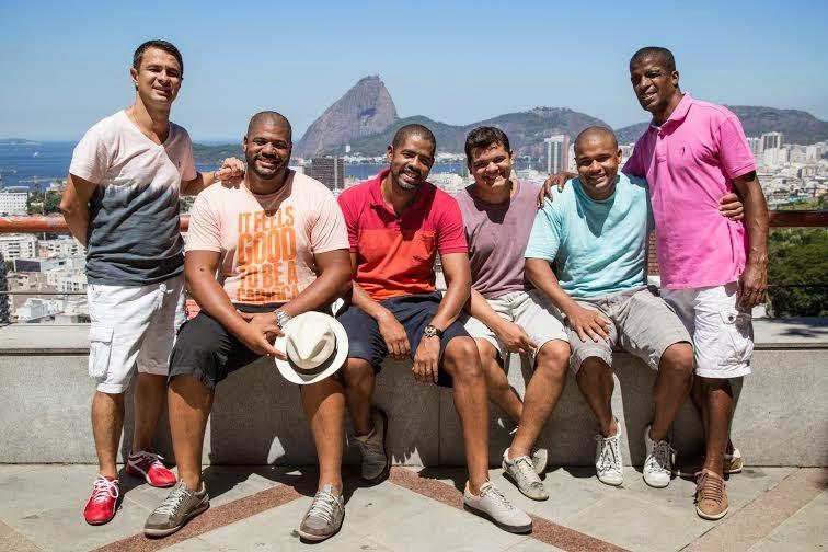 Grupo Samba do Chapéu se apresenta no Otto Music Hall