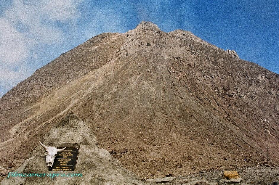 merapi volcano memorial