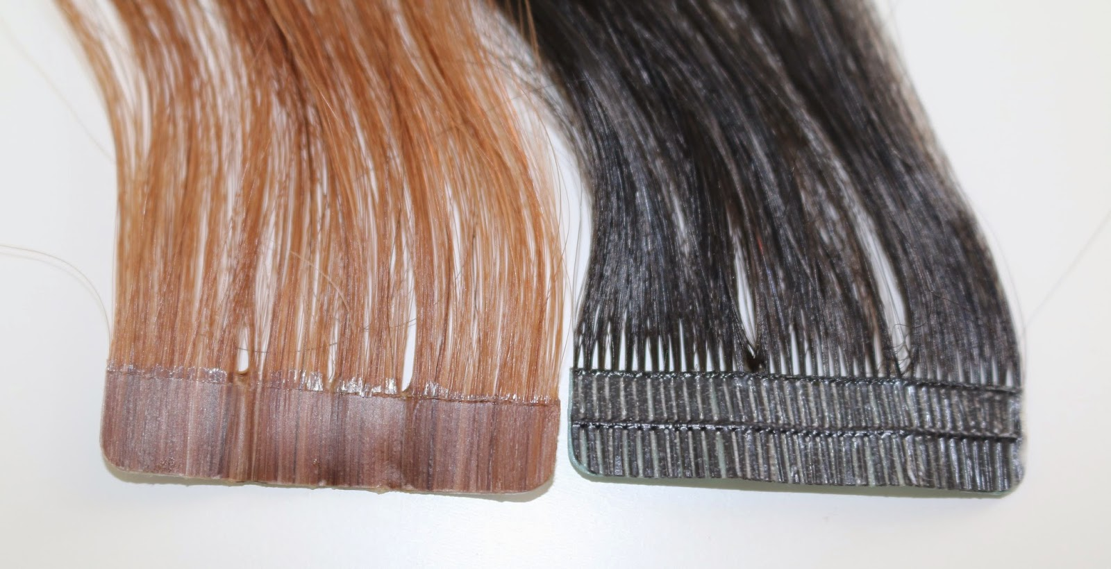 Rogue Hair Extensions Skin Weft Mesh Vs Pu Tape Hair Extensions