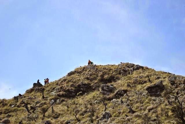 Puncak  Gunung Bawakaraeng Gowa