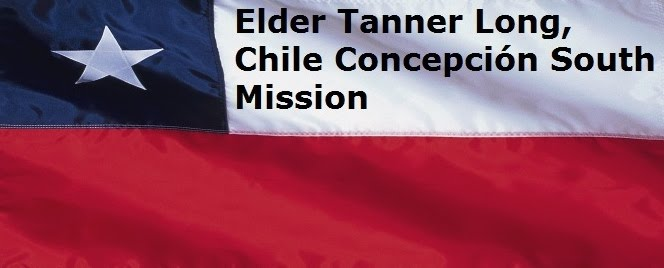 Elder Tanner Long, Chile Concepción South Mission