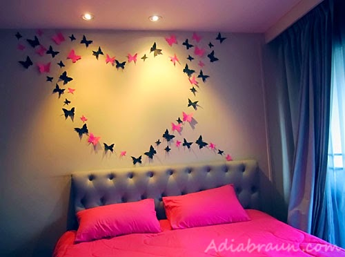 DIY Butterfly Wall Decoration - The Idea King
