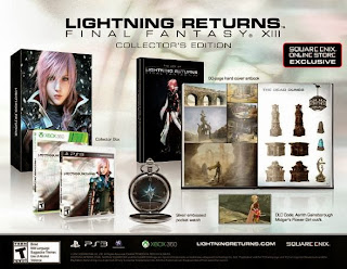 Lightning Returns Final Fantasy 13 collector's edition
