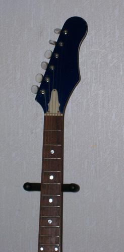 1960s Teisco EJ-1: Headstock