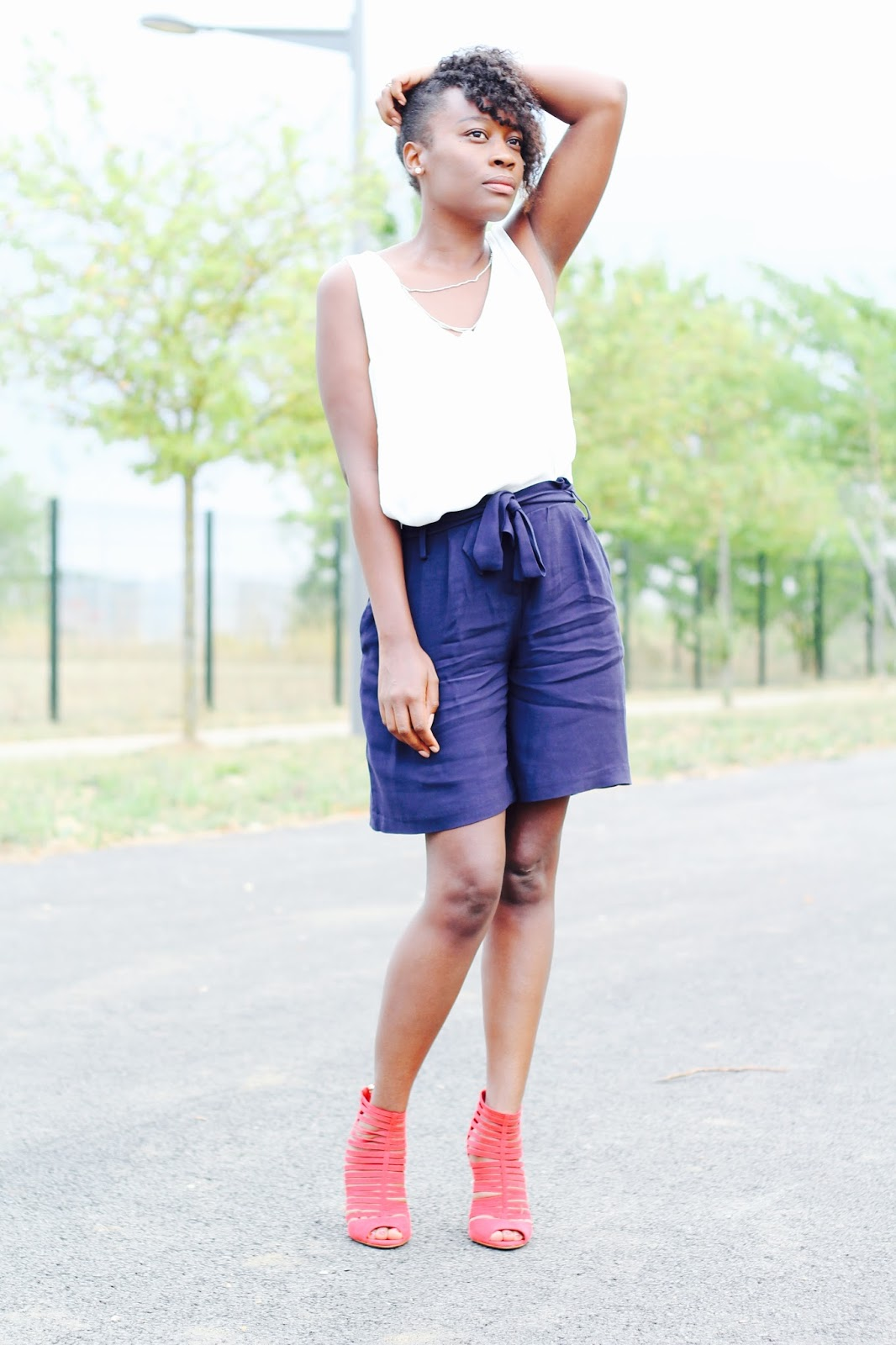 BLACK FASHION BLOGGER- NATURAL HAIR- TENDANCE