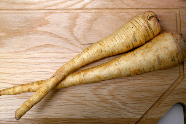 Parsnip crisps by What Laura did Next