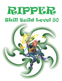 Ripper Skill Build level 80