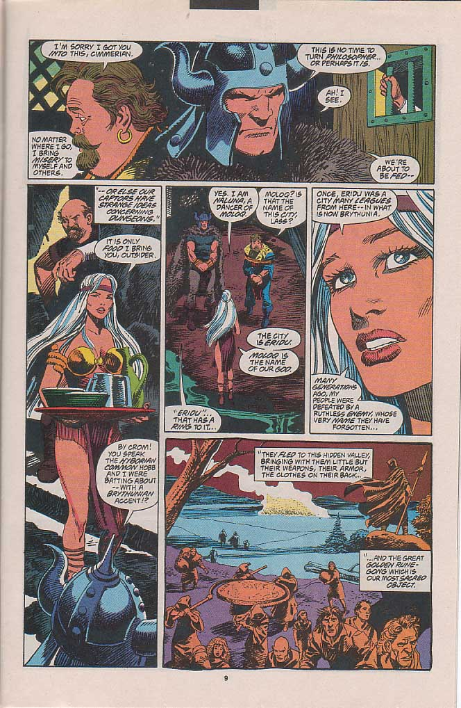 Conan the Barbarian (1970) Issue #263 #275 - English 9
