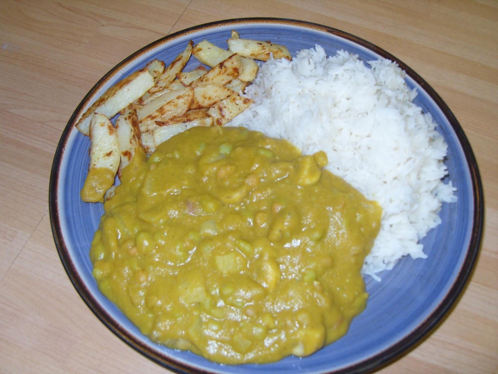 Slimming World Recipes: Mushy Pea curry - syn free
