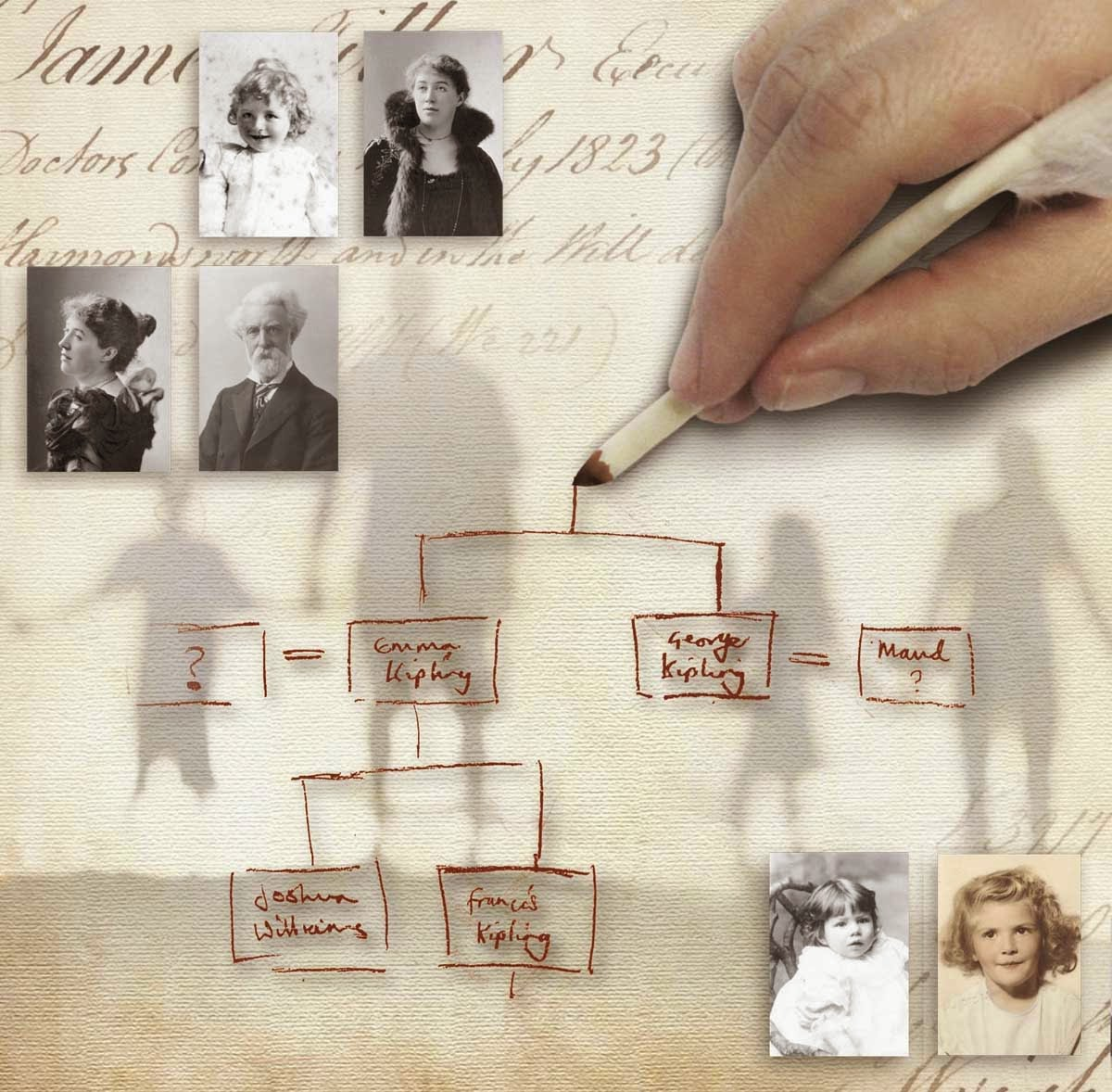 illustrated family tree