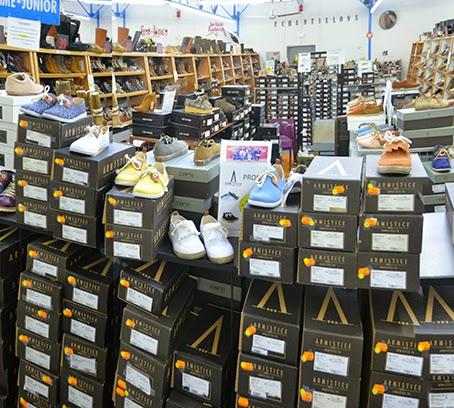 Grandes marques de chaussures à prix cassés