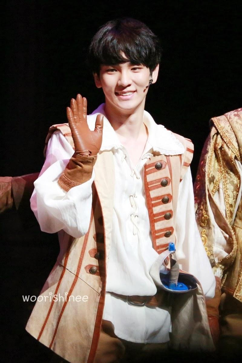 131217 Key - Three Musketers Drama Musical