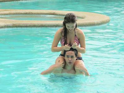 Sam Concepcion and Coleen Garcia: Pool Hotties!