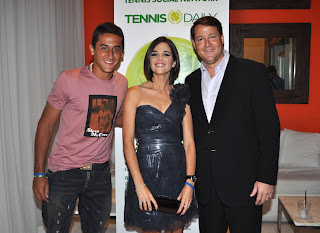 Nicolas Almagro with Girlfriend