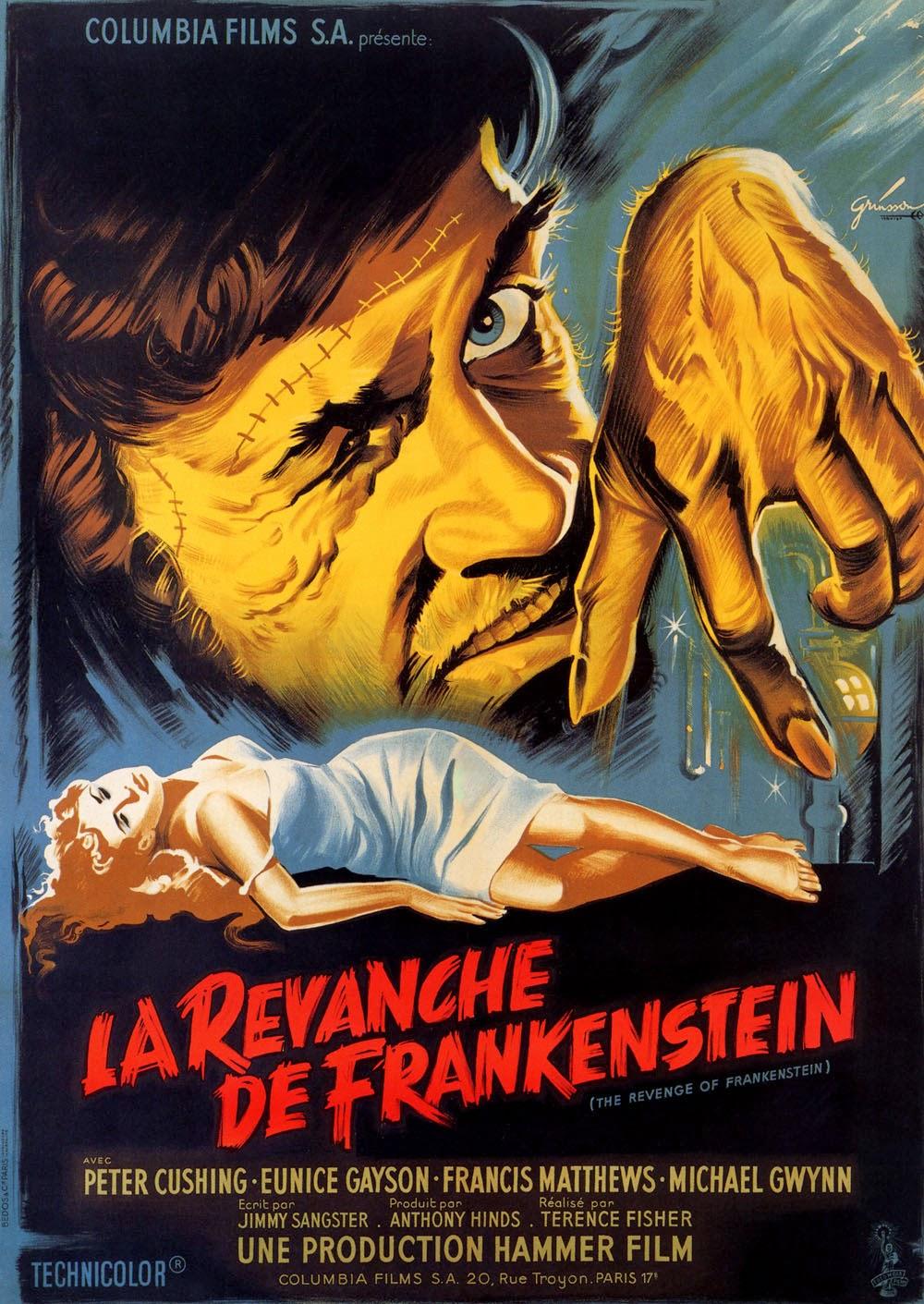 Thesis for revenge in frankenstein