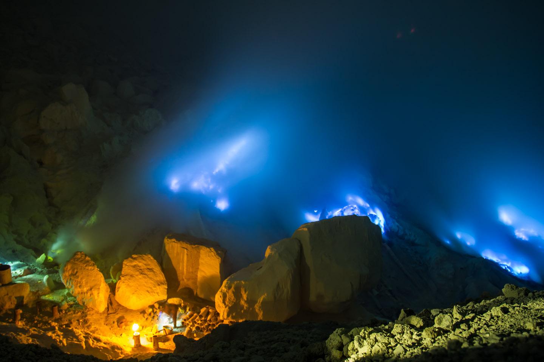 Kawah Ijen, el volcán que parece de otro mundo.