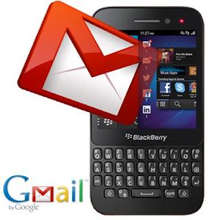 GMail on BlackBerry 10