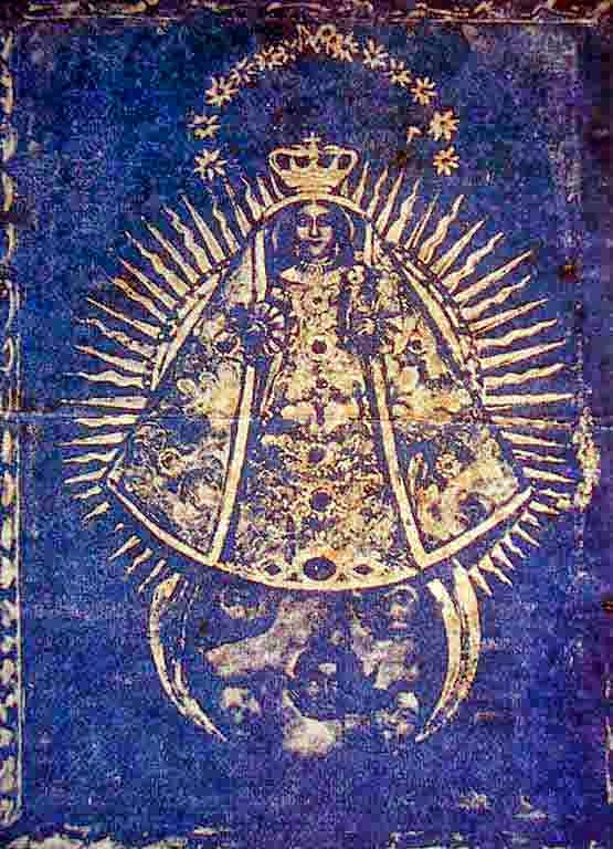 Virgen de la Caridad y de los Remedios. Siglo XVII. Óleo sobre tela. Autor Anónimo